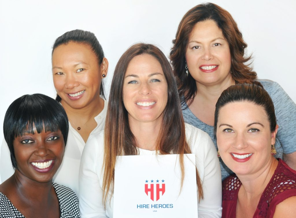 Hire Heroes USA Workshop New Professional Head Shots for Female Veterans