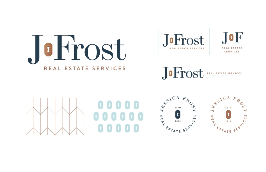 J.Frost Real Estate: Final Branding / Primary & Secondary Logos