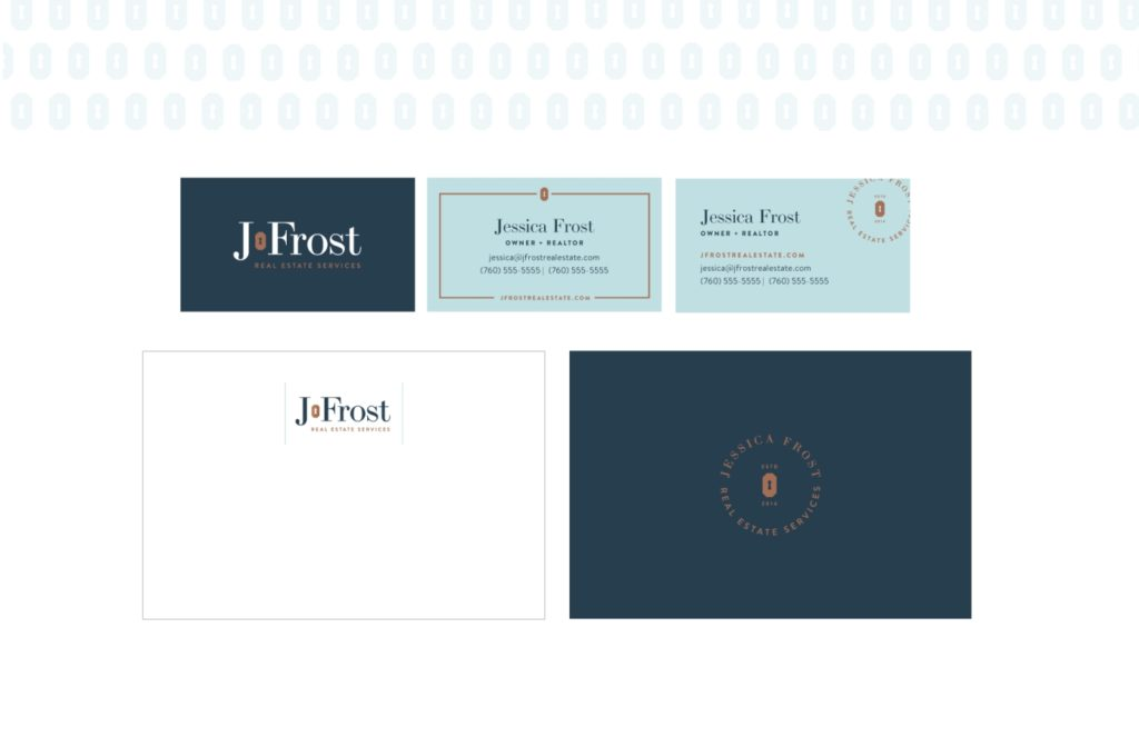 J.Frost Real Estate: Brand Collateral