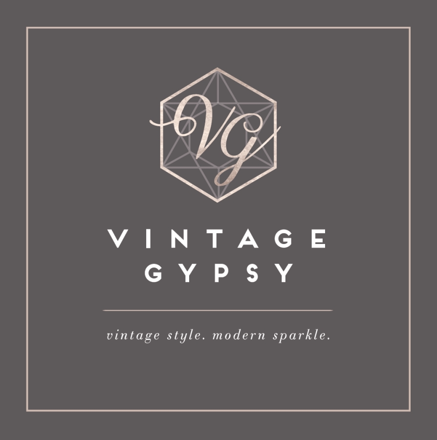 Vintage Gypsy Jewelry: Business Card