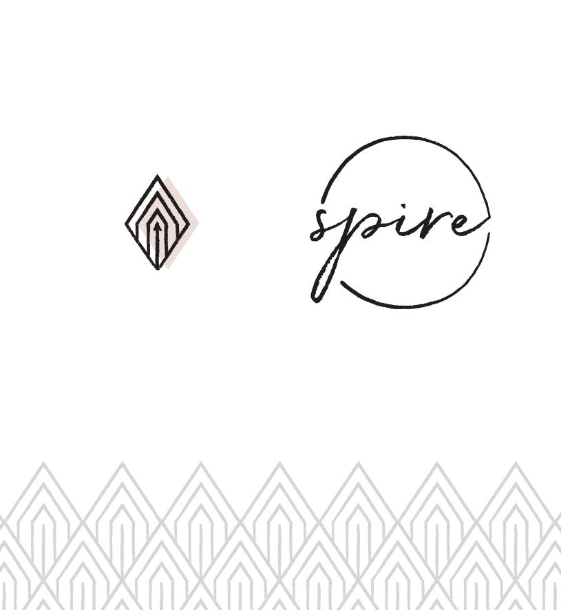 Spire Brand Pattern + Submark + Logomark