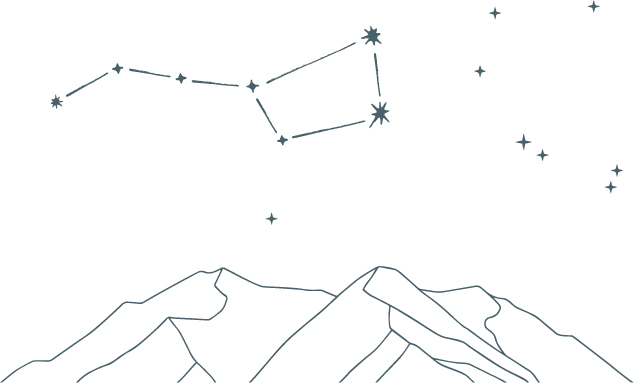 Ursa Major Brand Illustration