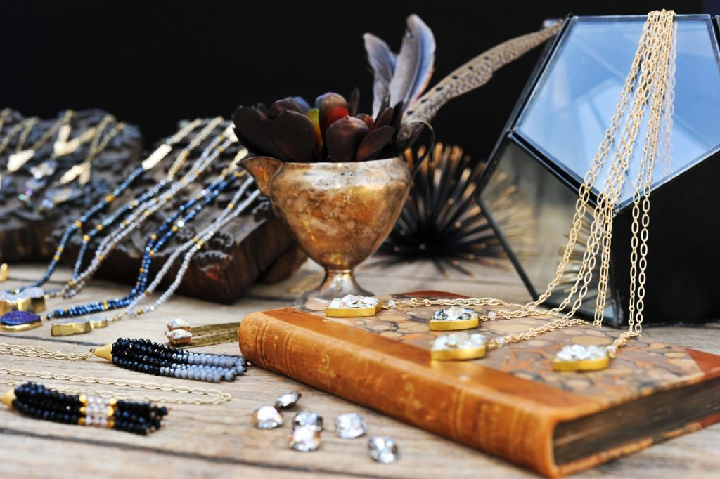 Vintage Gypsy Jewelry: Branding Imagery