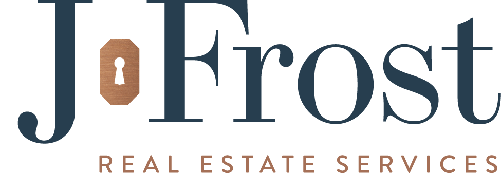 J.Frost Real Estate: Brand new logo design!