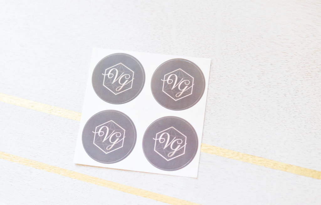Vintage Gypsy Jewelry: Packaging Stickers