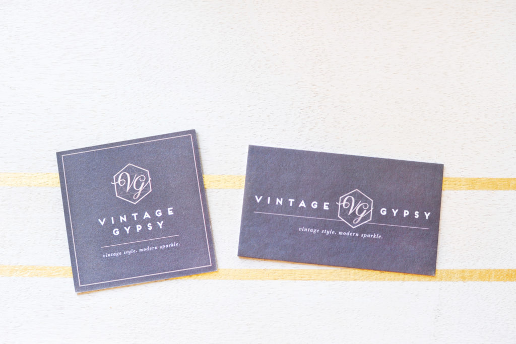 Vintage Gypsy Jewelry: New Business Cards