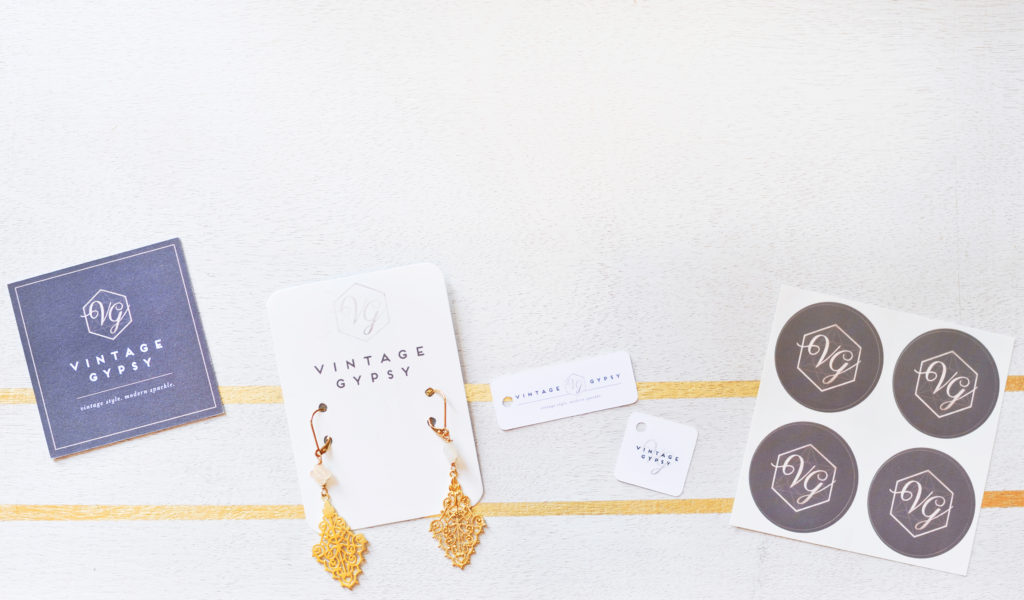 Vintage Gypsy Jewelry: Newly Branded Collateral
